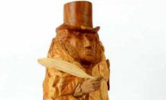 Болдинская осень - Деревянная скульптура Владимира Цепляева