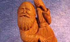 Домовичок - Деревянная скульптура Владимира Цепляева