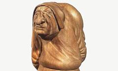 Горбун - Деревянная скульптура Владимира Цепляева
