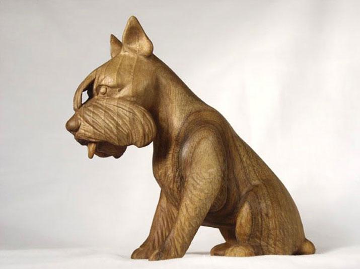 Жарко - Деревянная скульптура Владимира Цепляева