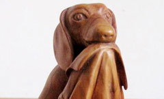 Утро выходного дня - Деревянная скульптура Владимира Цепляева