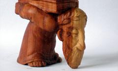 Философ - Деревянная скульптура Владимира Цепляева