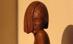 Кокетка - Деревянная скульптура Владимира Цепляева