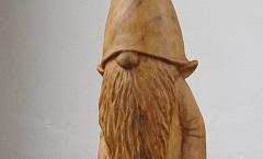 Гномик - Деревянная скульптура Владимира Цепляева