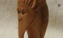 Тэнгу - Деревянная скульптура Владимира Цепляева
