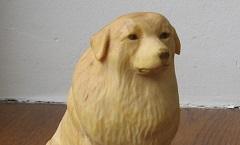 Пиренейская горная собака - Деревянная скульптура Владимира Цепляева